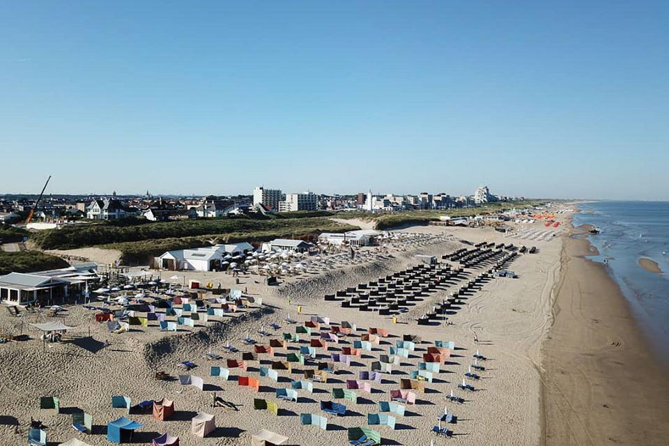 Strandpaviljoens mogen één jaar overwinteren op strand. Noordwijk Ny